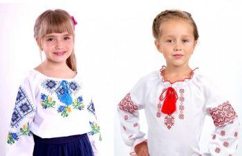 Вышиванка детская, вышиванка для девочки, вышитое платье, Киев