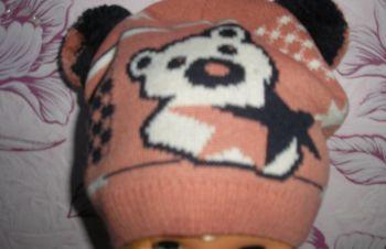 Продам детскую осеннюю шапку для девочки, Харьков