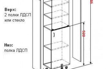 Шкаф медицинский 0924, Харьков