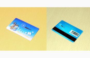 Пластиковая карточка со стерео/варио эффектом, Киев