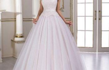 Восхитительное свадебное платье А-силуэта, Киев