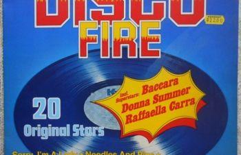 Виниловая пластинка Disco Fire 20 Original Stars, Винница