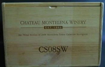 Деревянный ящик для вина CHATEAU MONTELENA WINEN, 1882, Недригайлов