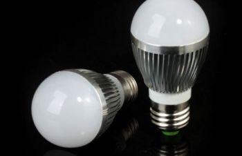 Светодиодная лампа E27 6W 600 Lm LED 85-265, Киев