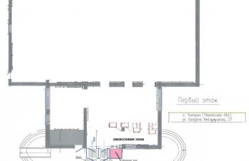 Аренда помещения 3, 9 м2 г. Чигирин