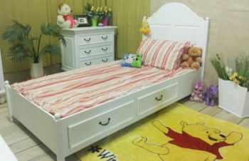 Кровать Прованс с выдвижными ящиками, Киев