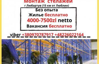 Без досвіду, є навчання, виготовлення стелажів, Відрядження по Бельгії та франції, Киев