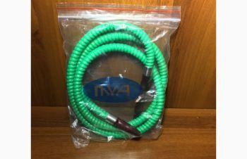 Шланг для кальяна MYA green кальянная трубка зеленый, Киев