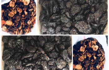 Сухофрукти: чорнослив, квасоля, шипшина, сушене яблуко, груша, Бар