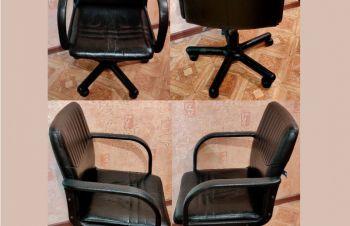 Кресло офисное, кожзам.+ бесплатная доставка. Киев