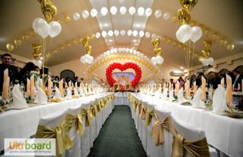 Свадебное оформление воздушными шарами, Днепр