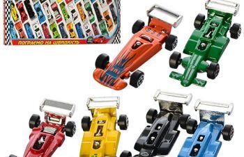 Набор металлических машинок коллекция гонщика, Одесса