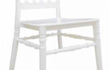 Стул Донна Пластиковый стул Чиавари чіаварі белый стул Наполеон пластиковый белый золото, Киев