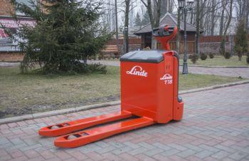 Электротележка Linde T18, Житомир