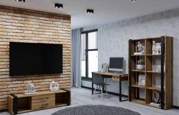 Мебель Соломон лофт стиль для комнаты, шкафы, столы, тумбы, Киев