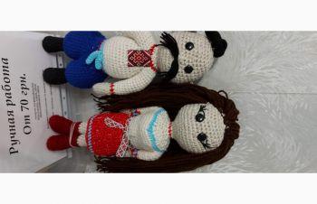 Украинская кукла — пара в национальном костюме. связанные крючком. возможен заказ других, Одесса