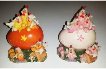 Сувенирное яйцо шкатулка (2 штуки), Киев