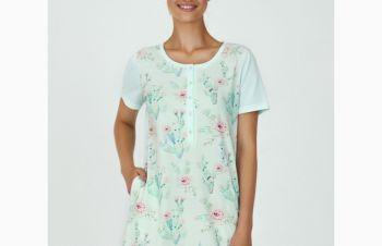 Женская ночная сорочка с коротким рукавом «Cactus» (арт. LDK 103/03/01), Кривой Рог