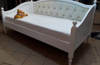 Кровать из дерева Скарлет софа заниженная без фрезеровки, Киев