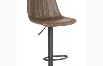 Барный высокий стул Кастор, цвет сиденья коричневый, Днепр