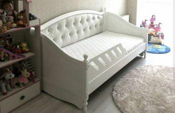 Кровать Скарлет софа заниженная без резьбы, Киев