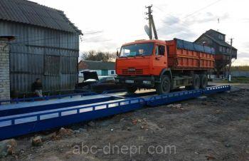 Весы автомобильные 14 метров 60 (80) тонн, Запорожье
