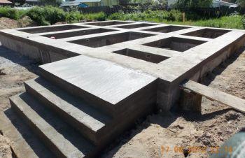 Строительство ленточного фундамента, Киев