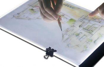Планшет для рисования и копирования с Led подсветкой Manturinni А4, Киев