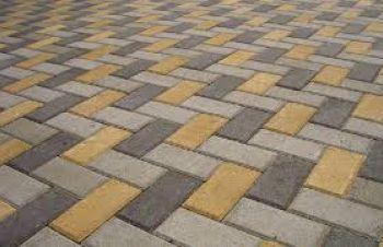 Укладка тротуарной плитки от 50 м² в Харькове