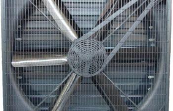 Вентилятор стенный, с клинно-ременной передачей, Львов