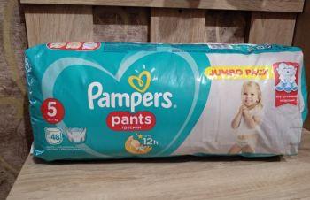 Подгузники-трусики Pampers Pants 5, 34 шт, Одесса