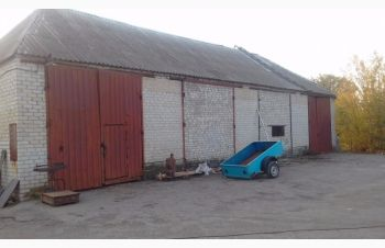 Продам территорию с капитальным зданием и недостроем в г.Васильевка