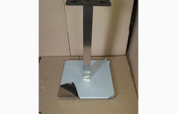 Опора Кама, металл, нержавеющая сталь, высота 72 см, 50*50 см блин внизу, Днепр