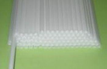 Палочки трубочки пластиковые для флажков, сахарной ваты и шариков, Днепр