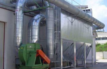 Аспирационные системы для очистки воздуха от пыли и газов, Черкассы